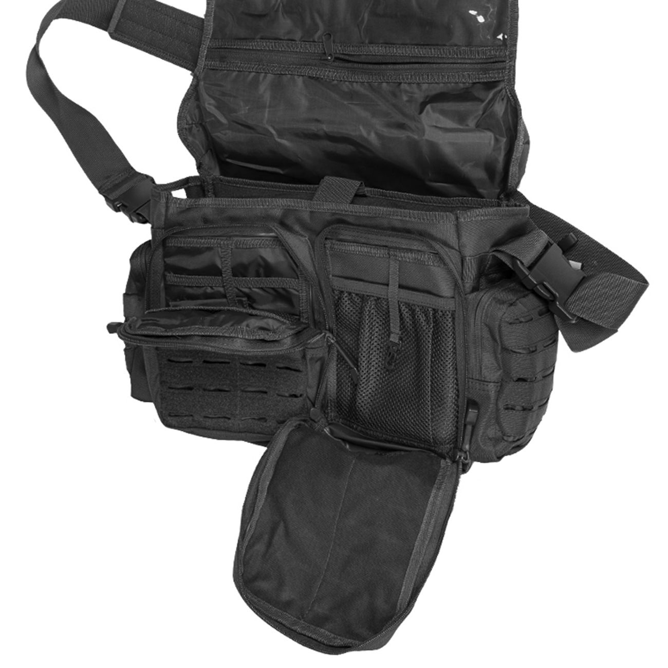 Mil-Tec Tactical Paracord Bag Large schwarz 2