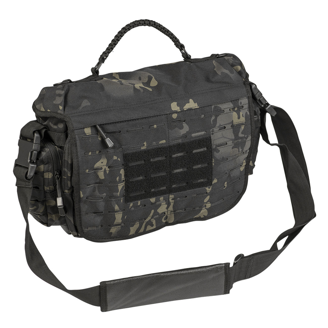 Mil-Tec Tactical Paracord Bag Large multitarn black 0