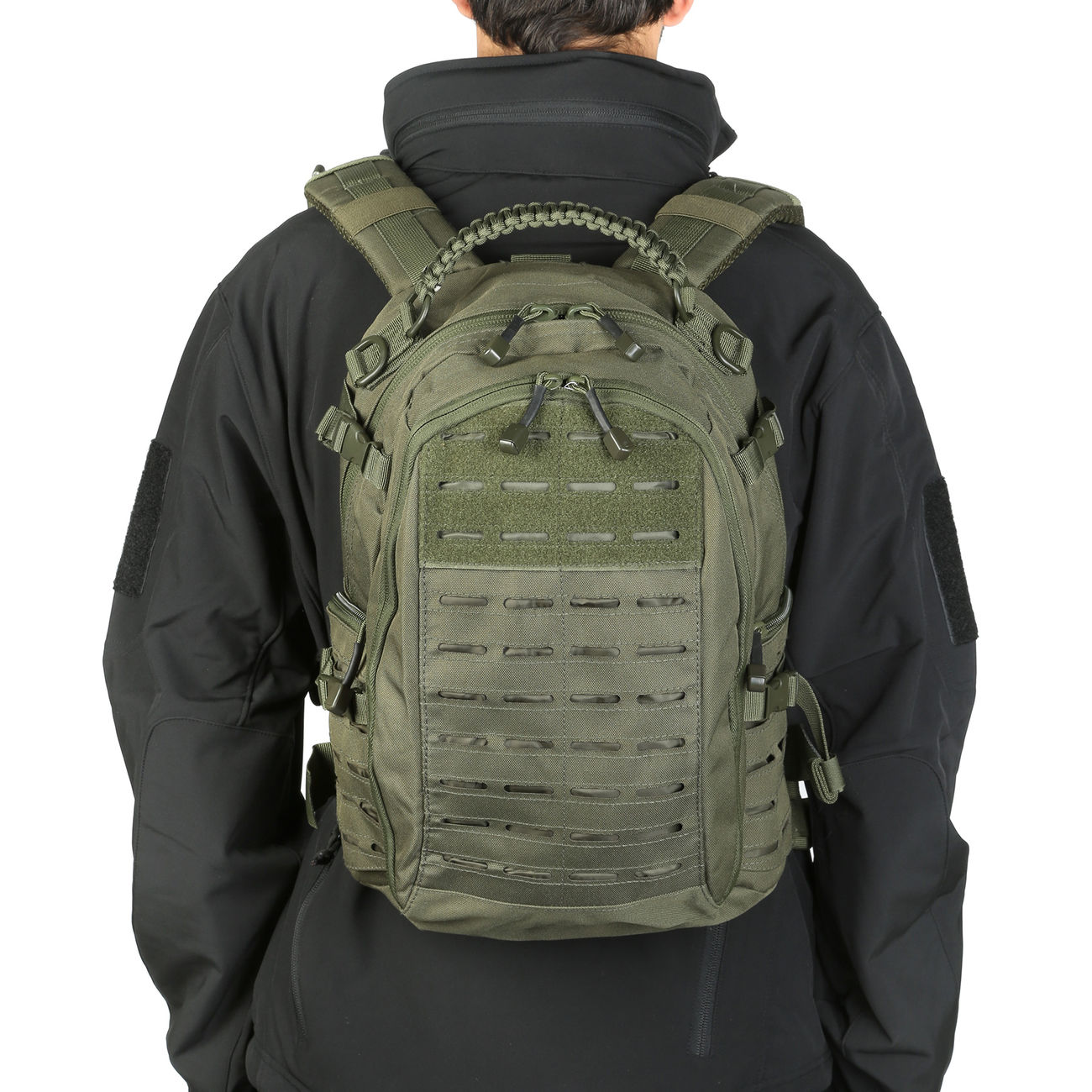 Mil-Tec Rucksack Mission Pack Laser Cut Small oliv 10