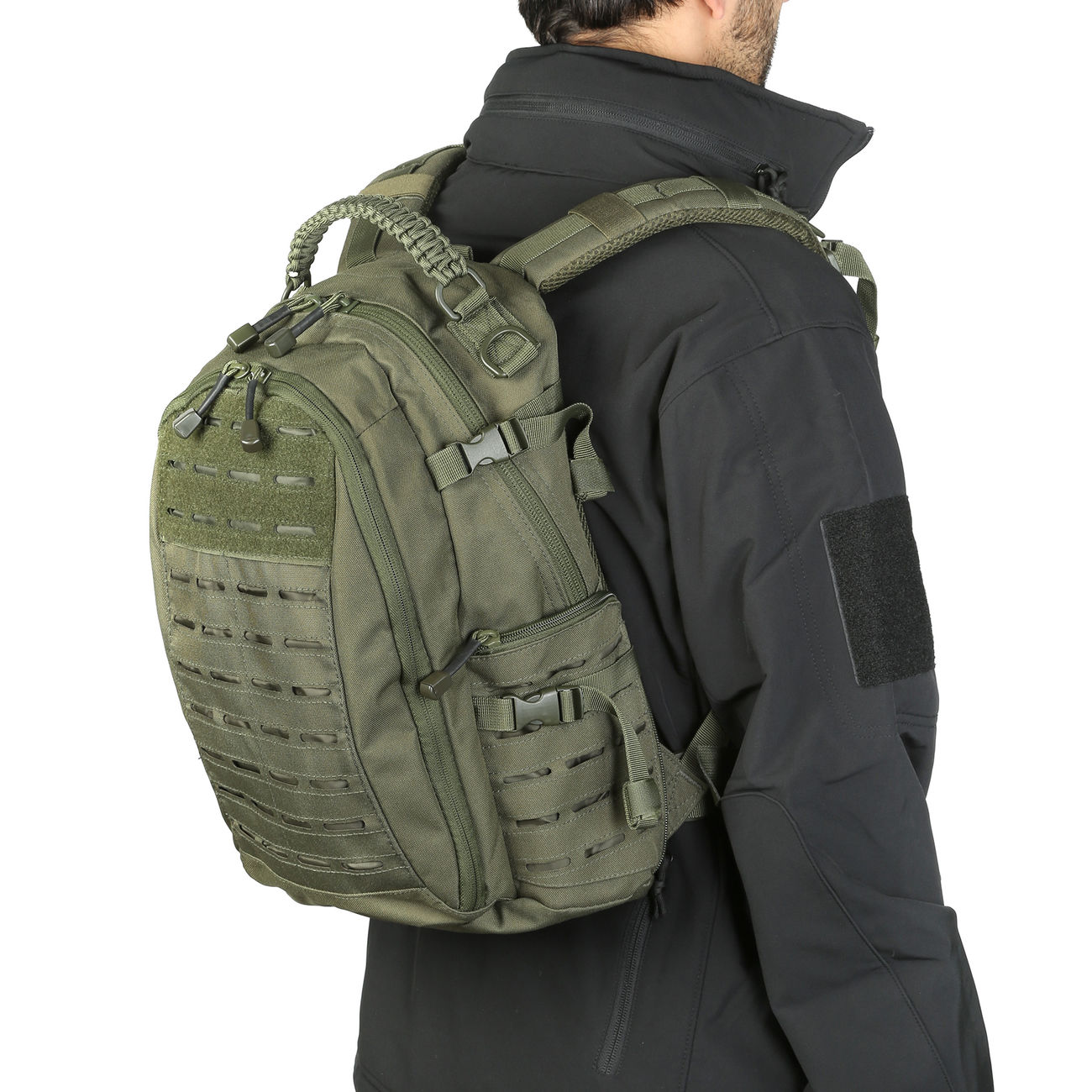 Mil-Tec Rucksack Mission Pack Laser Cut Small oliv 11