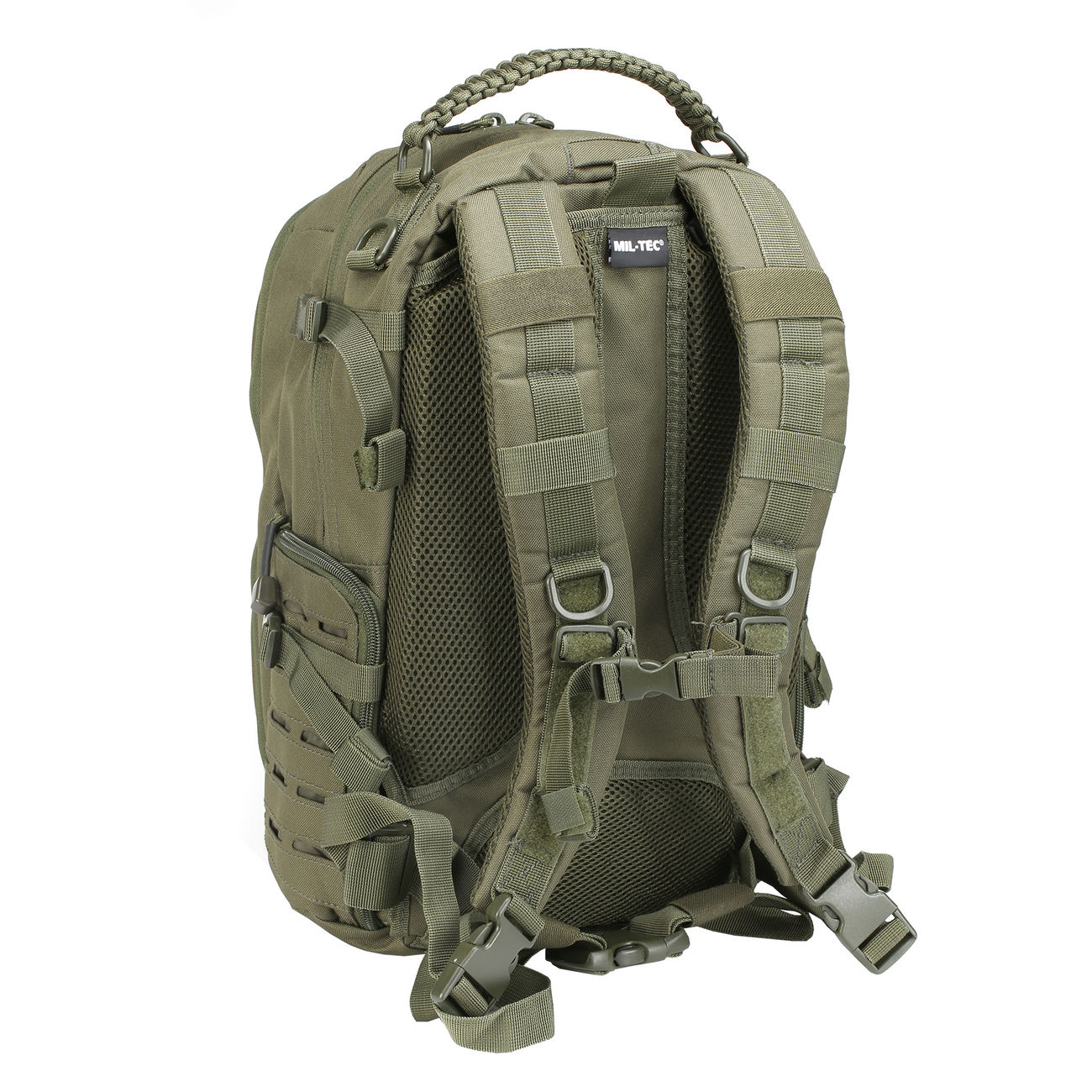 Mil-Tec Rucksack Mission Pack Laser Cut Small oliv 3