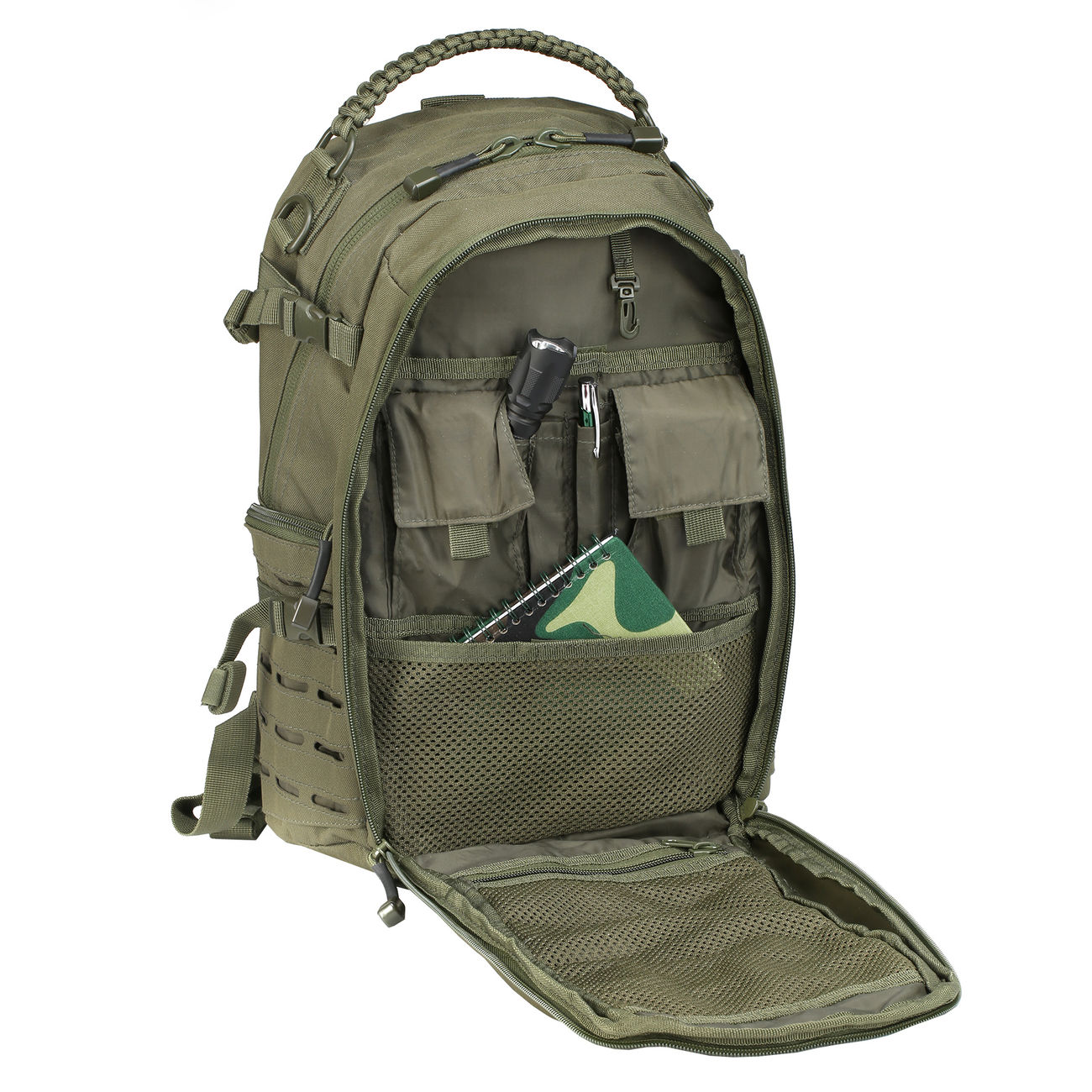 Mil-Tec Rucksack Mission Pack Laser Cut Small oliv 7