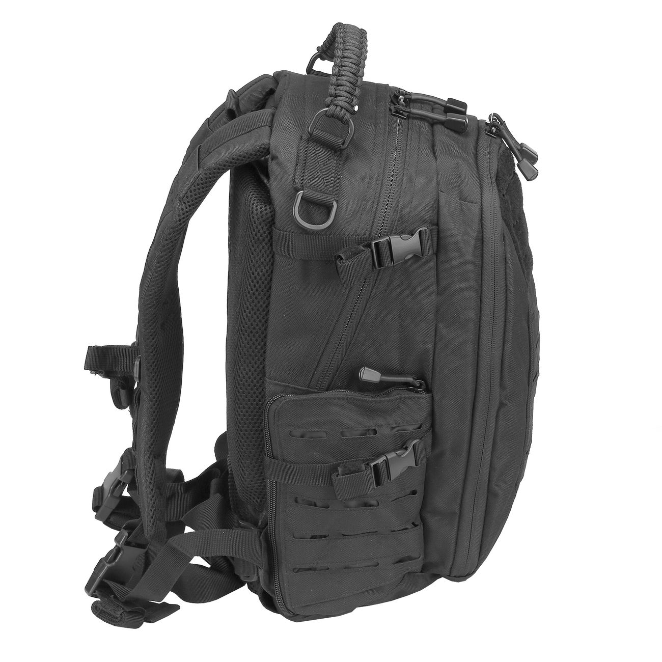 Mil-Tec Rucksack Mission Pack Laser Cut Small schwarz 1