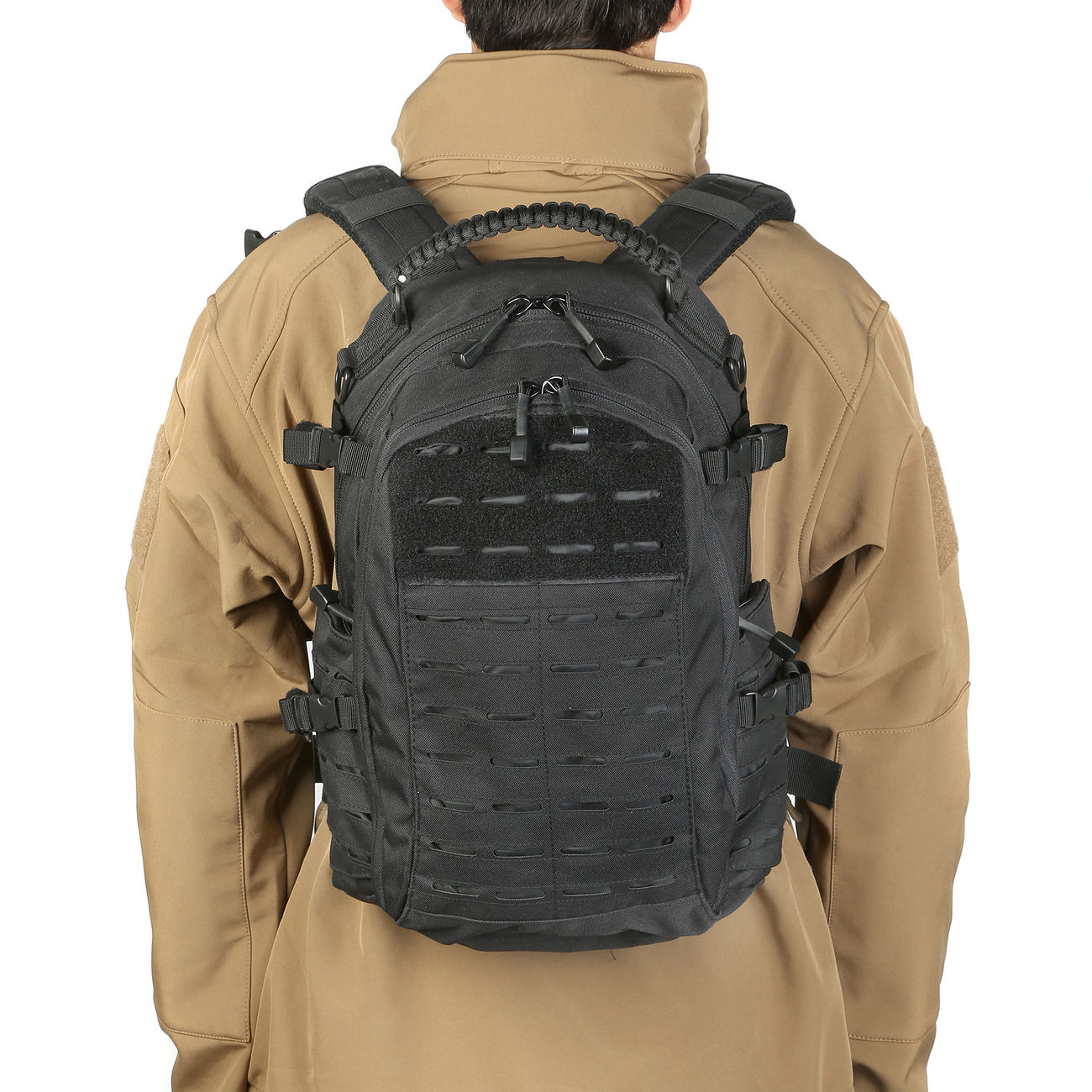 Mil-Tec Rucksack Mission Pack Laser Cut Small schwarz 10