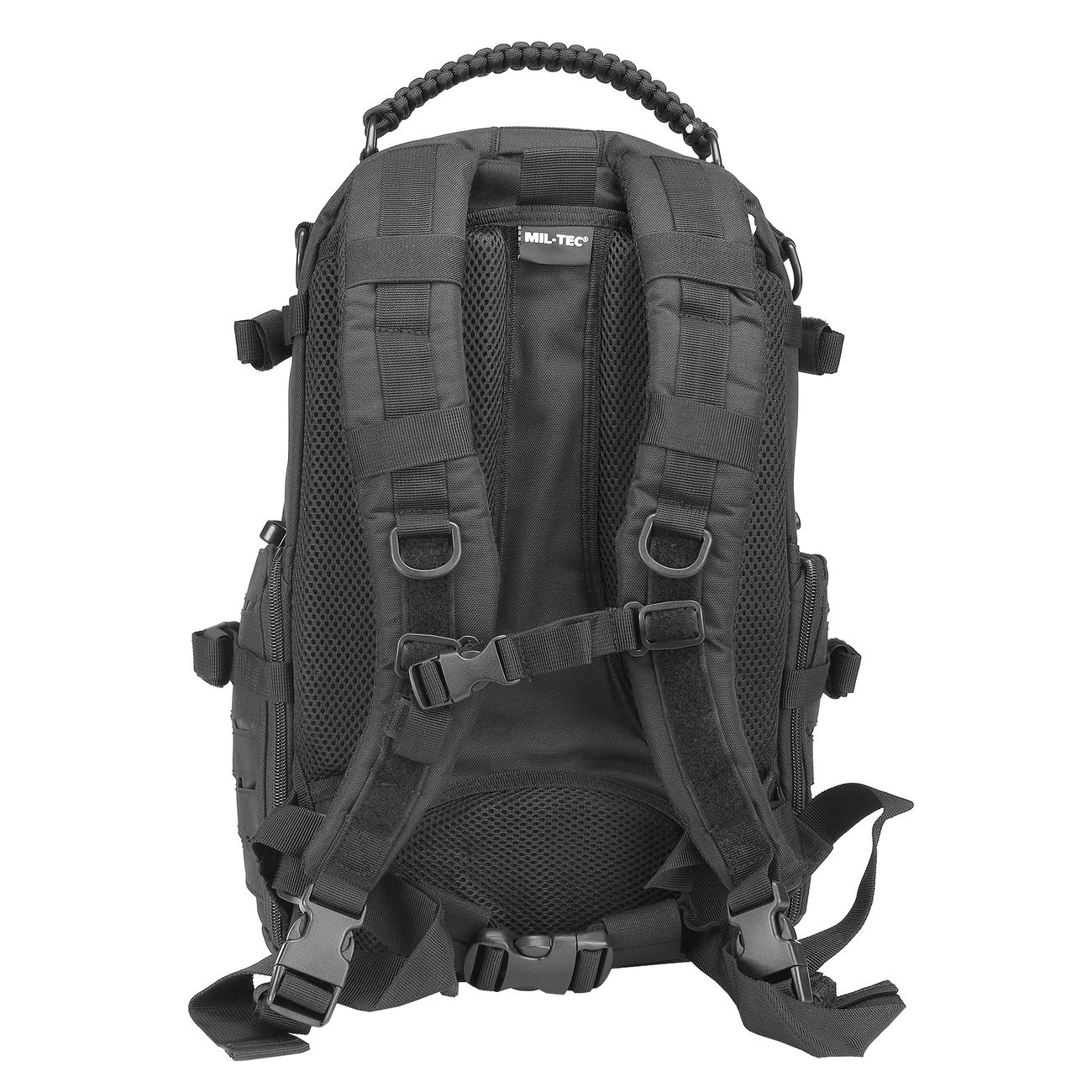 Mil-Tec Rucksack Mission Pack Laser Cut Small schwarz 2