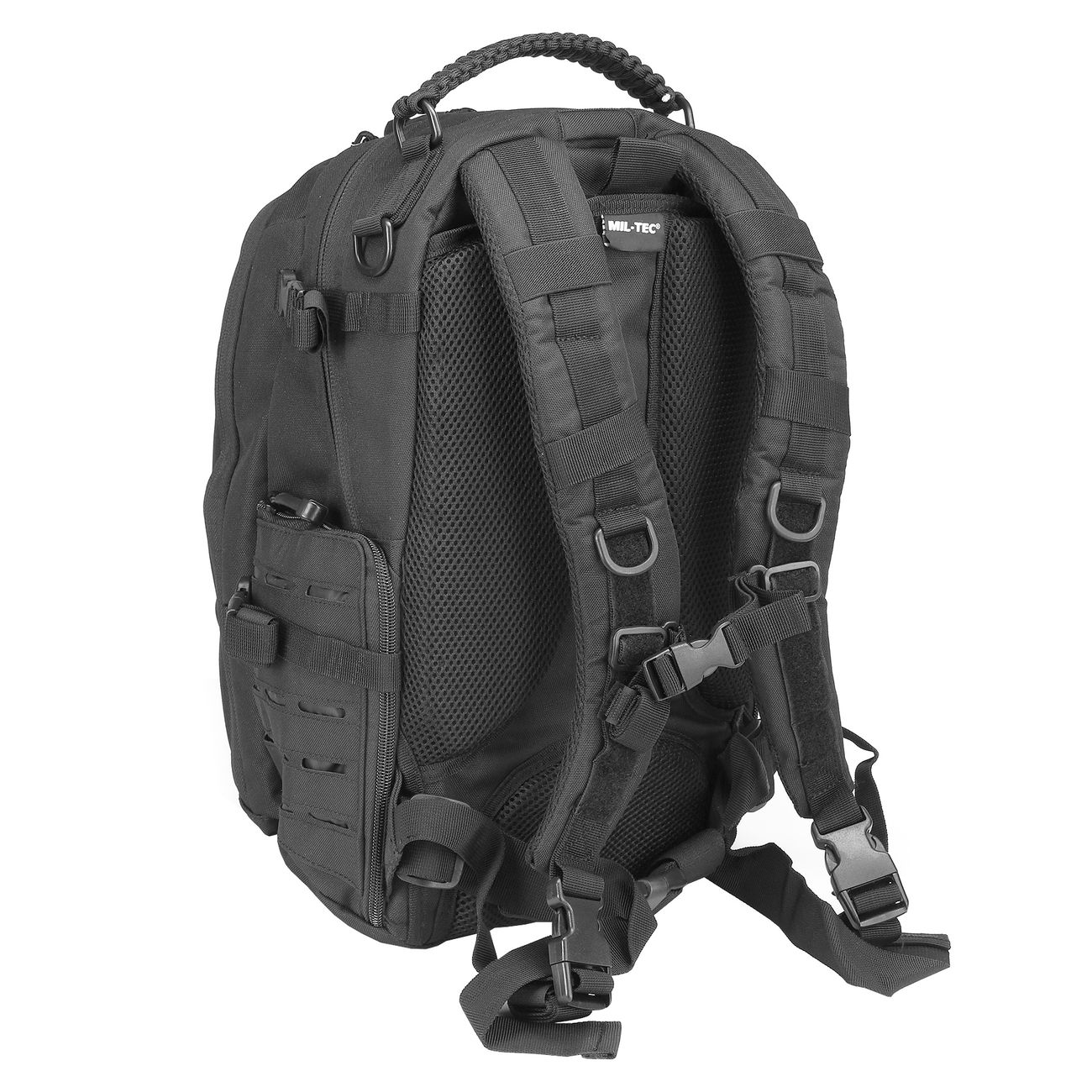 Mil-Tec Rucksack Mission Pack Laser Cut Small schwarz 3