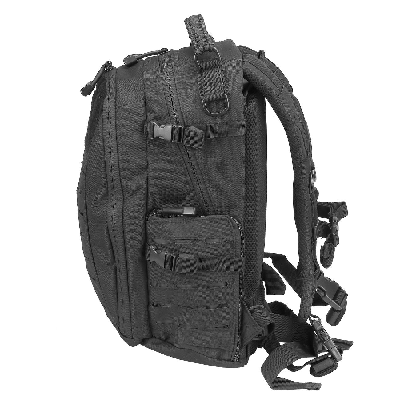 Mil-Tec Rucksack Mission Pack Laser Cut Small schwarz 4