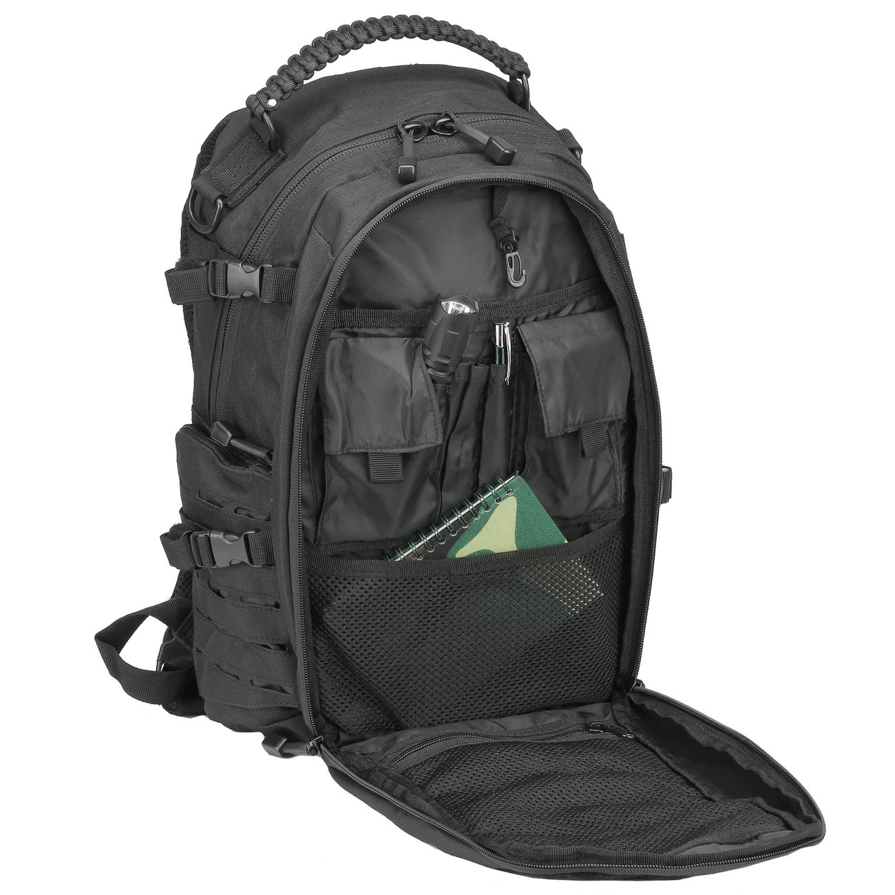 Mil-Tec Rucksack Mission Pack Laser Cut Small schwarz 7