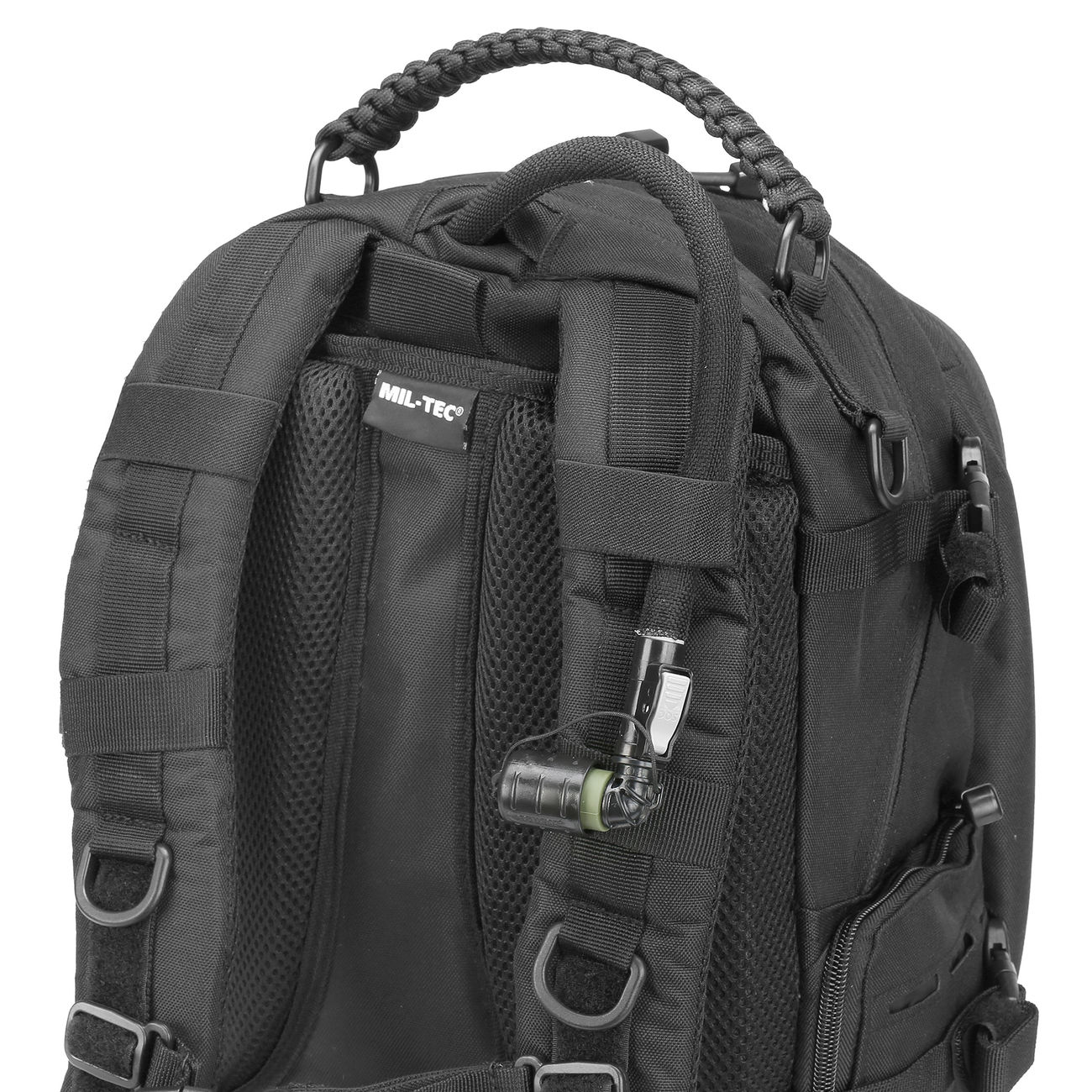 Mil-Tec Rucksack Mission Pack Laser Cut Small schwarz 8
