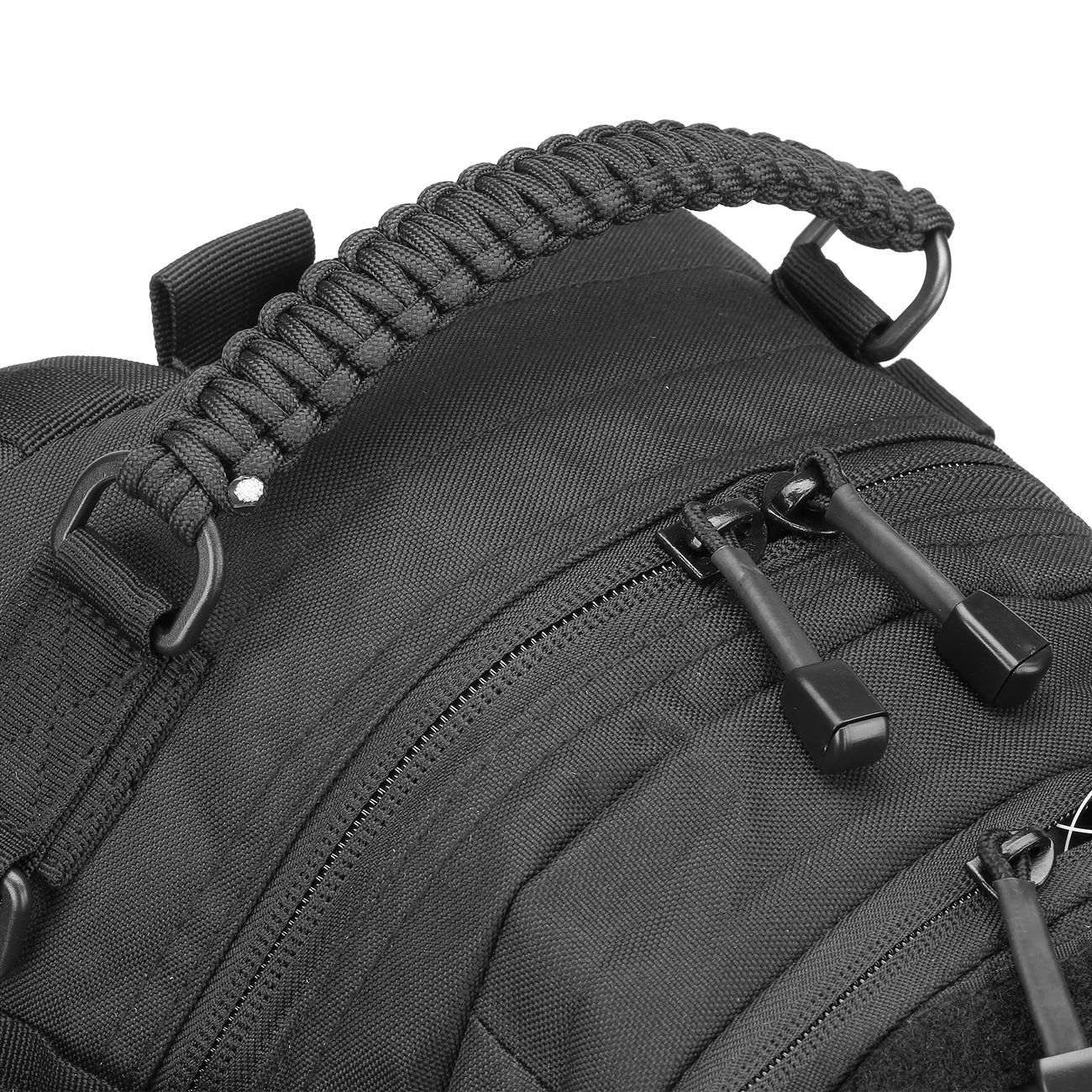 Mil-Tec Rucksack Mission Pack Laser Cut Small schwarz 9