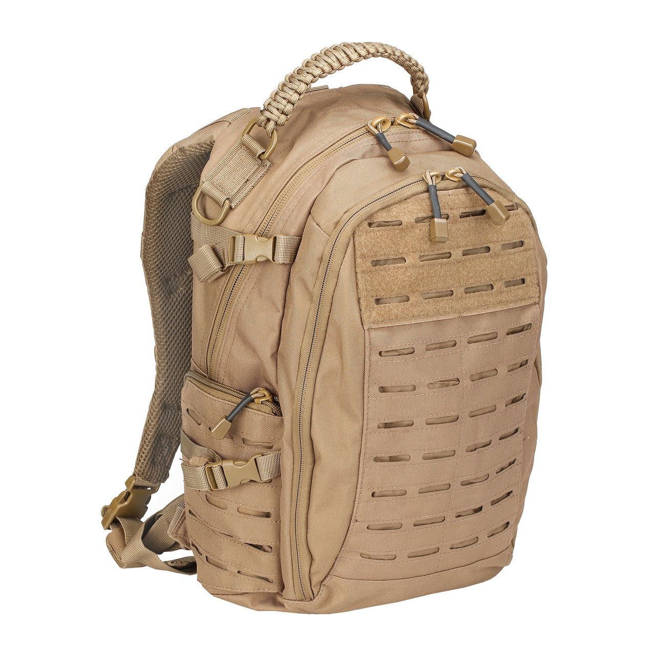 Mil-Tec Rucksack Mission Pack Laser Cut Small dark coyote 0