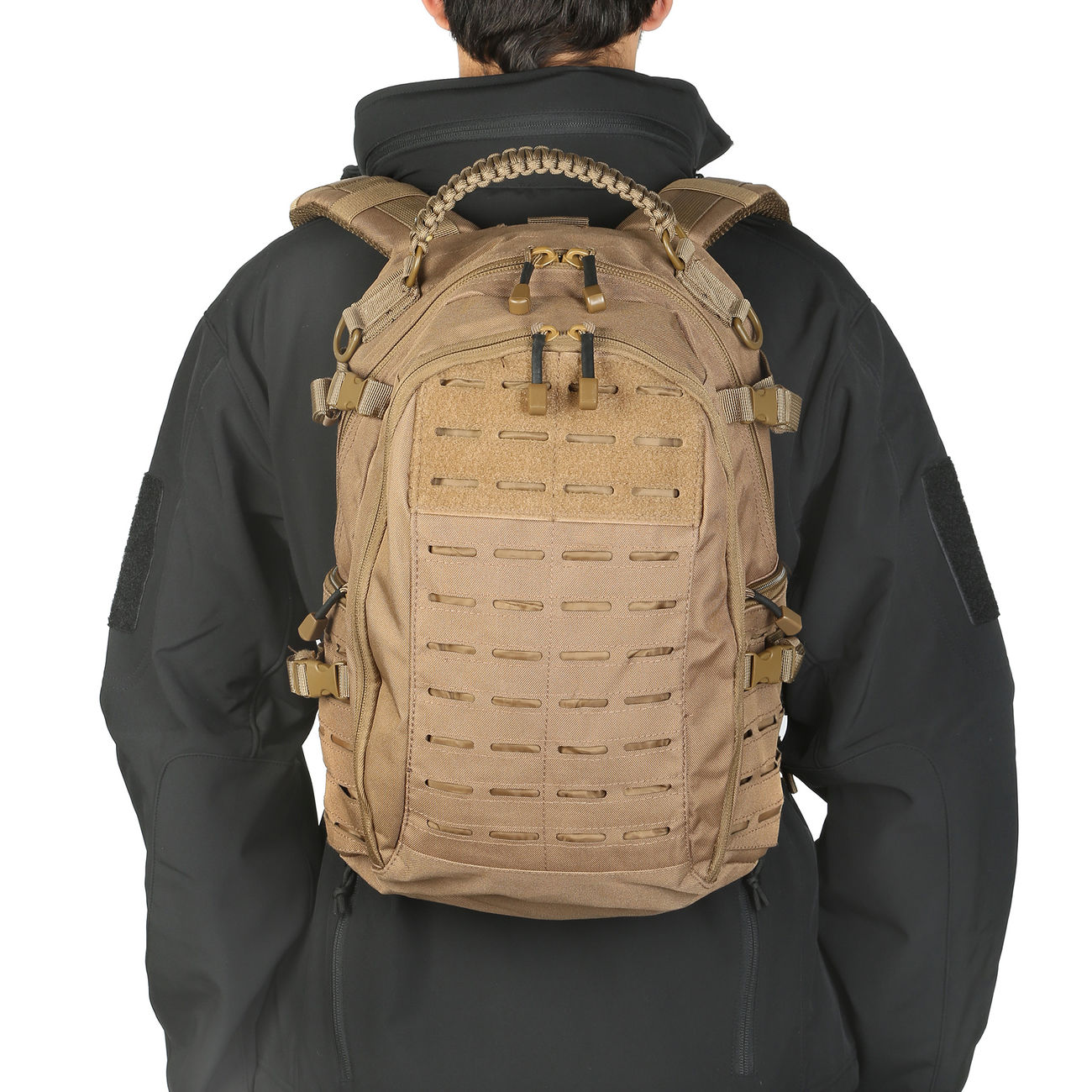 Mil-Tec Rucksack Mission Pack Laser Cut Small dark coyote 10