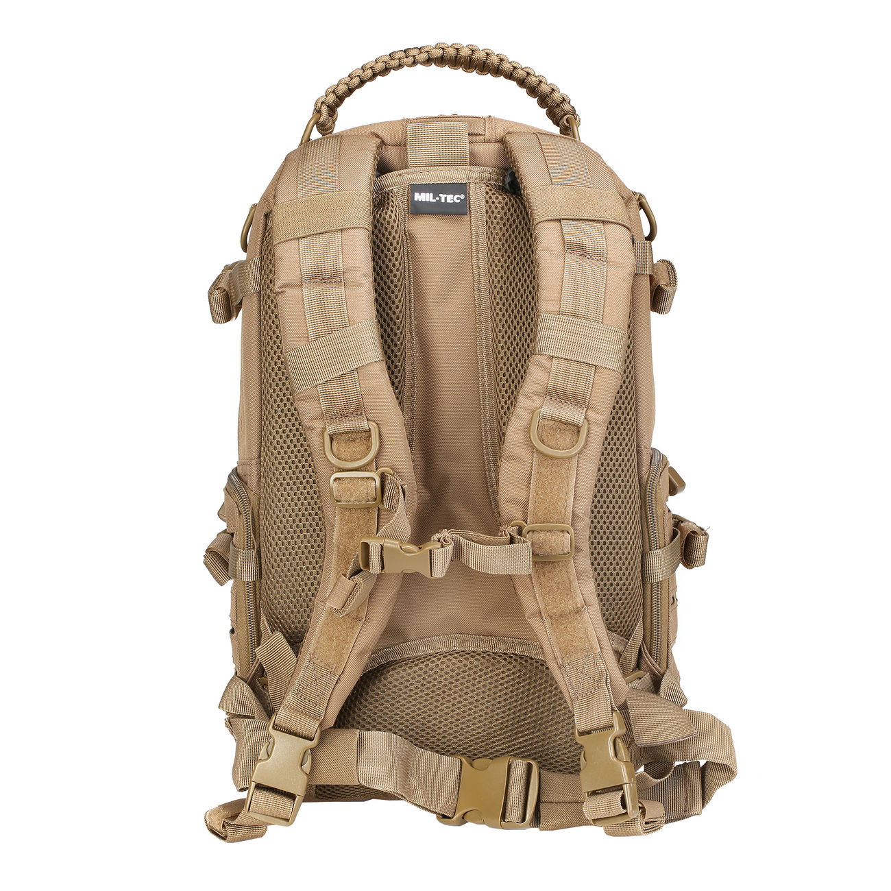 Mil-Tec Rucksack Mission Pack Laser Cut Small dark coyote 2