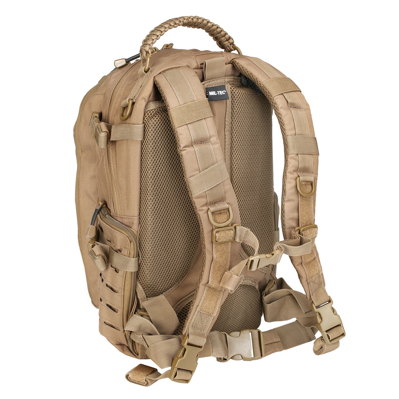Mil-Tec Rucksack Mission Pack Laser Cut Small dark coyote 3