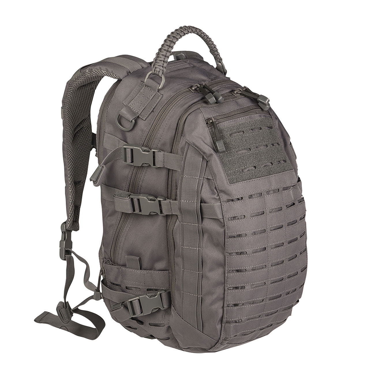 Mil-Tec Rucksack Mission Pack Laser Cut Large urban grey 0