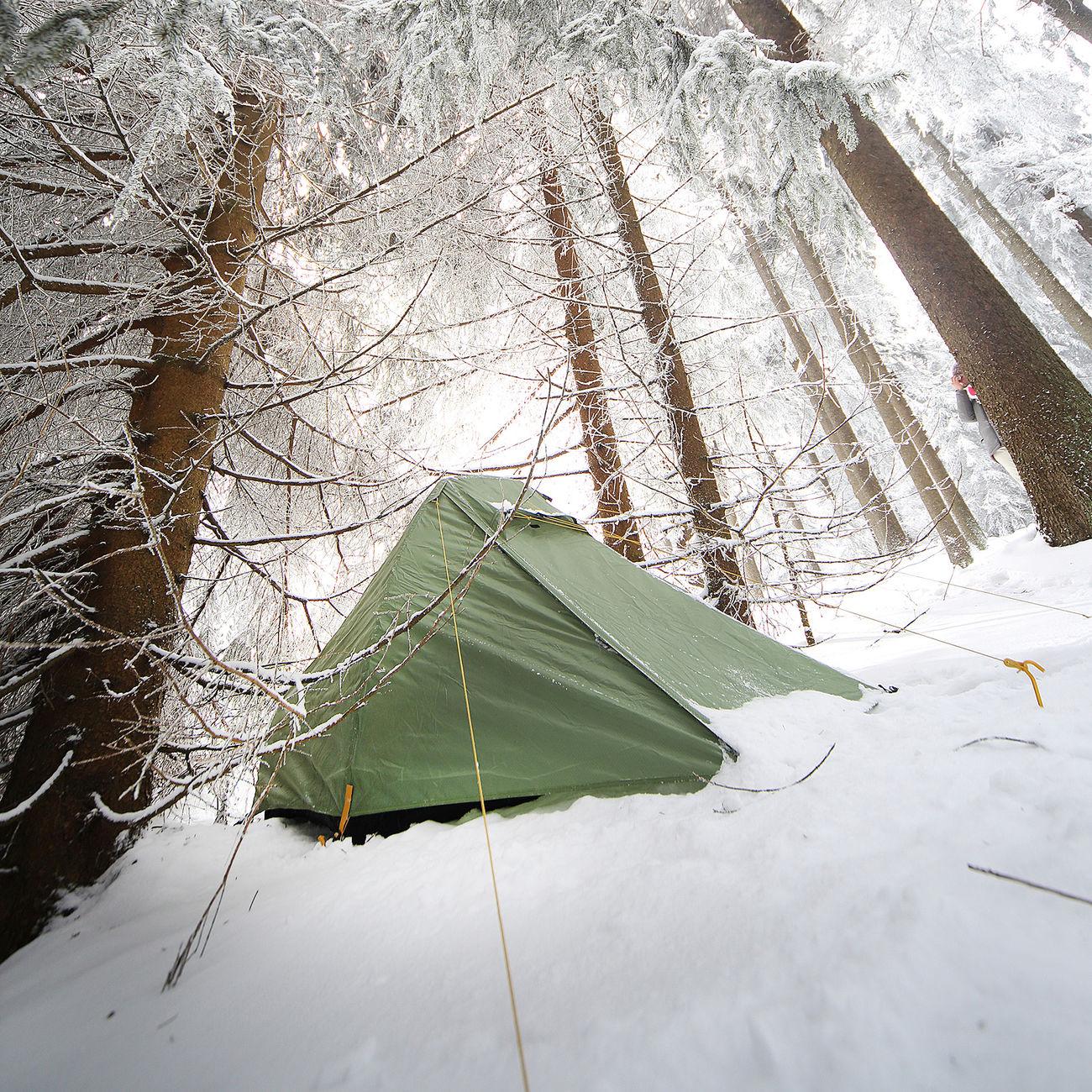 Gr/ün S Nordisk Svalbard 1/PU Tent Zelt