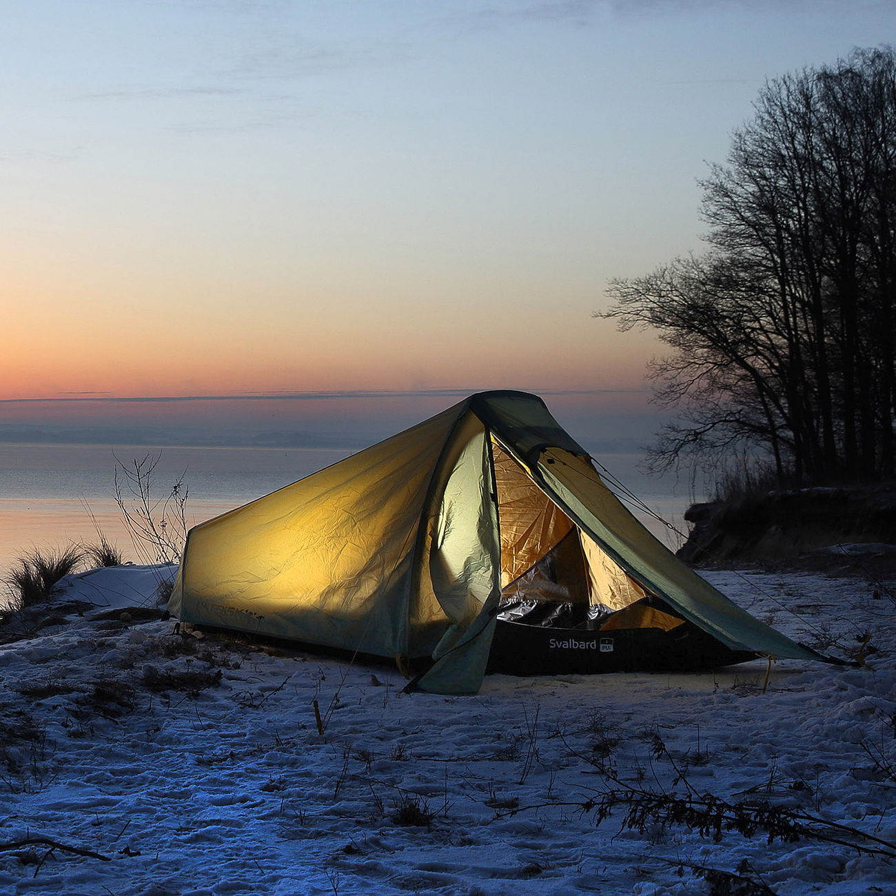 Nordisk Zelt Svalbard 1 SI für 1 Person waldgrün Kotte