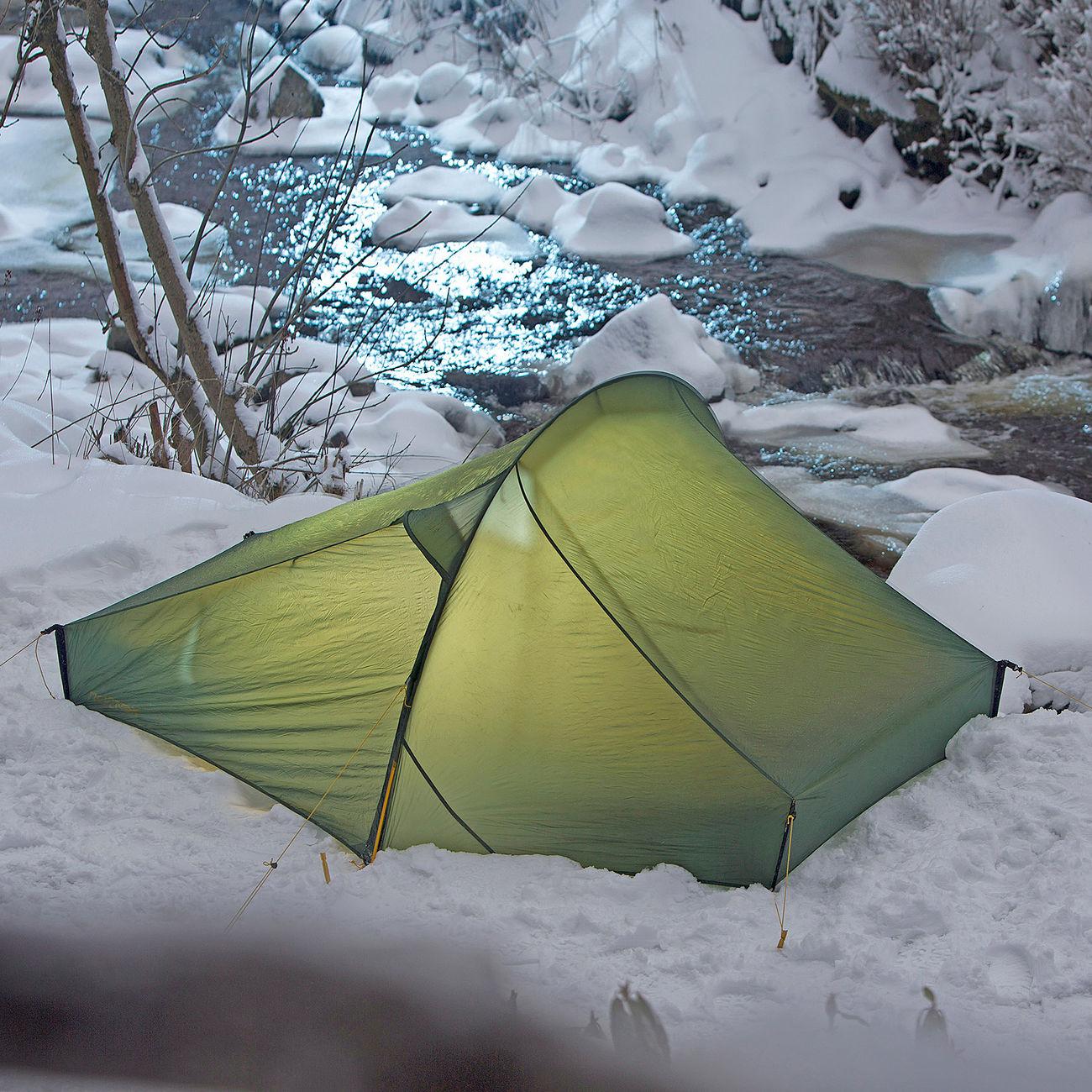 Nordisk Zelt Telemark 2 LW für 2 Personen waldgrün