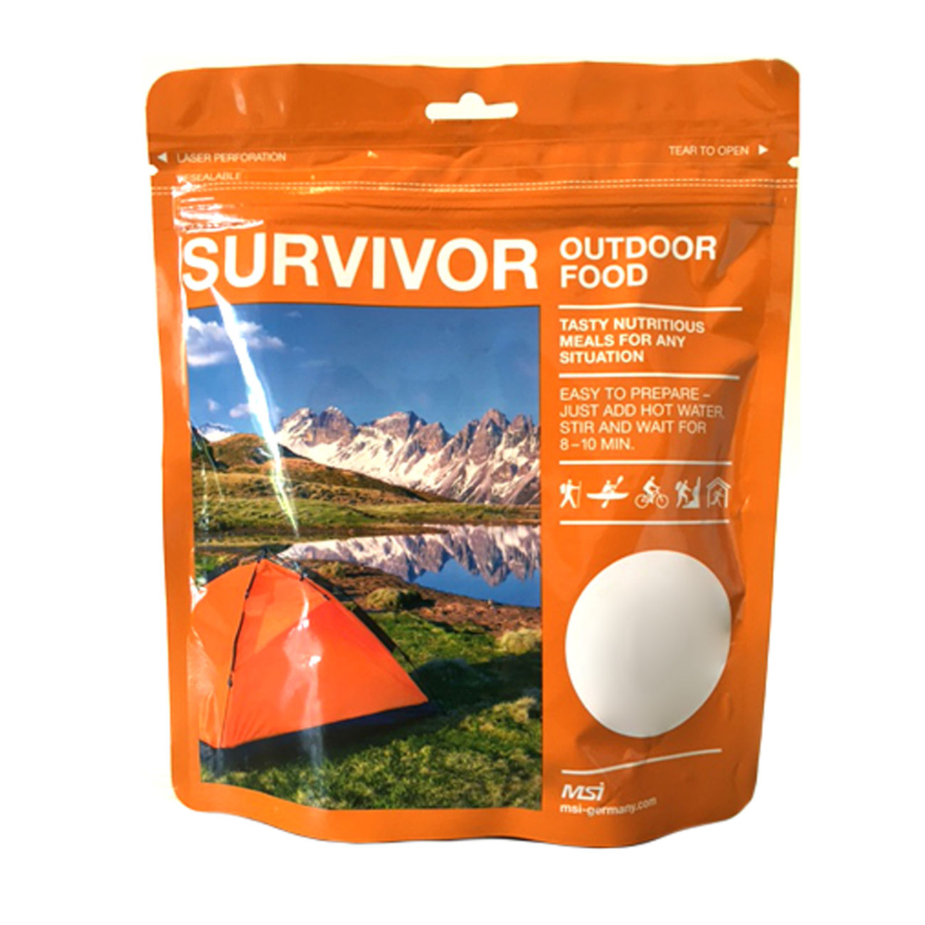 SURVIVOR Chili con Carne 250g Beutel 0
