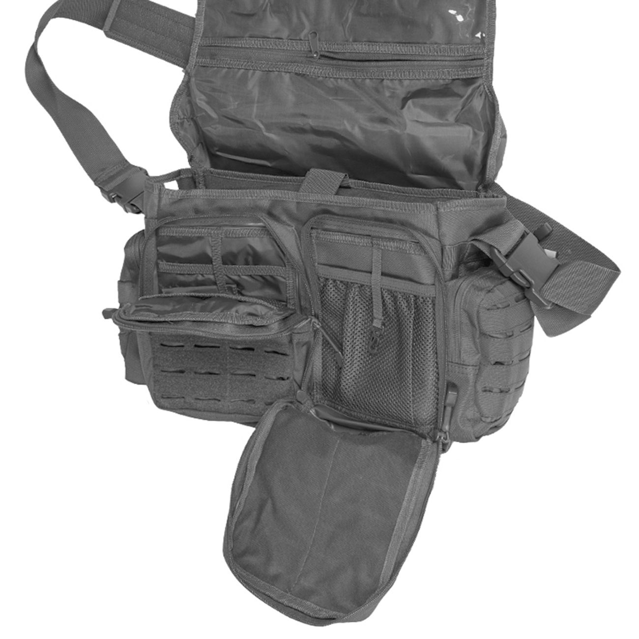 Mil-Tec Tactical Paracord Bag Large urban grey 2