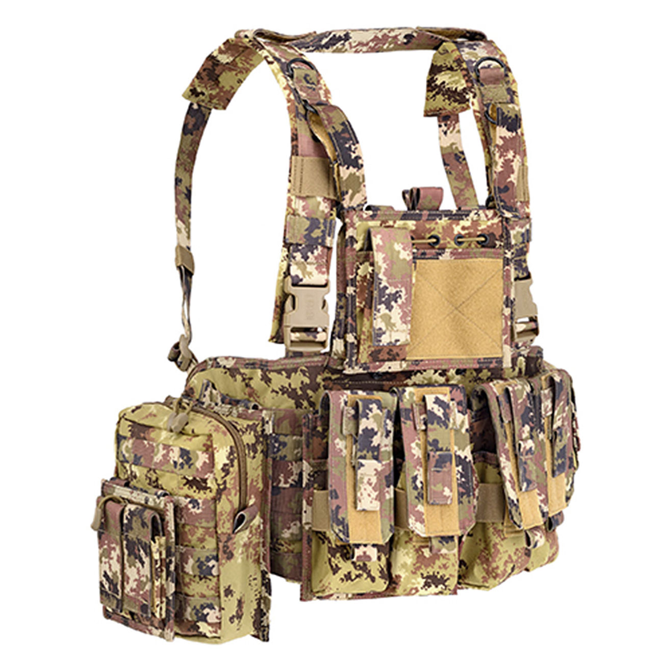 Defcon 5 Chest Rig Brustgeschirr Italian Camo 0