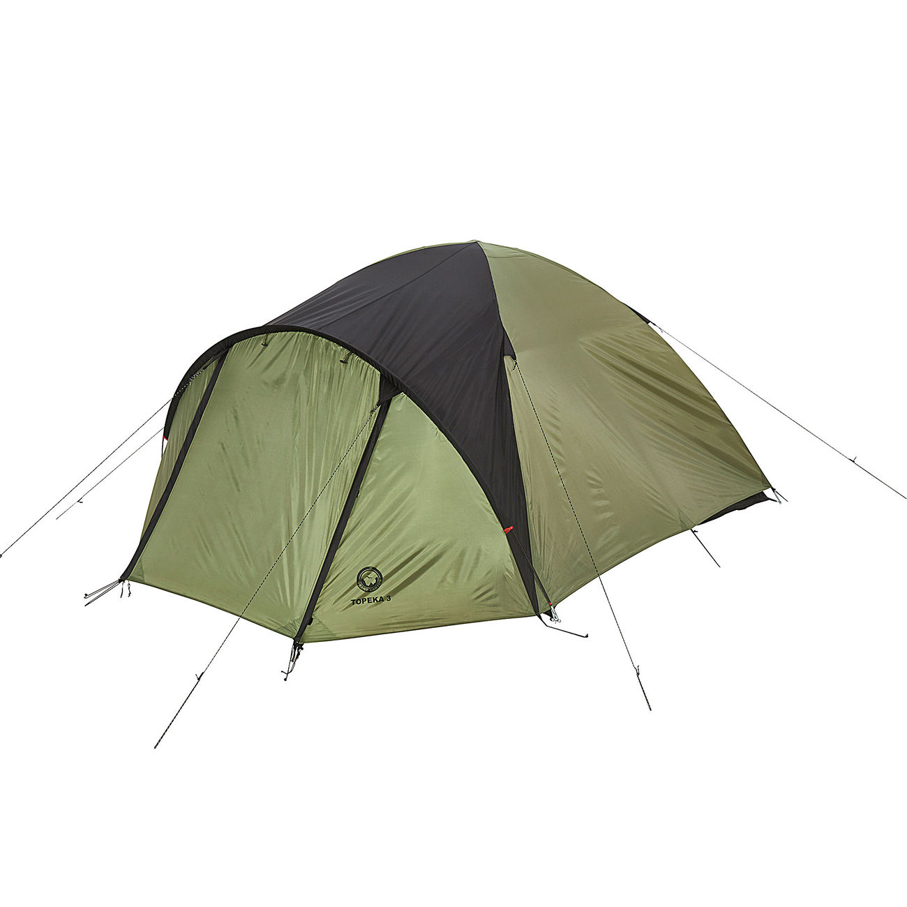 Mumienschlafsack ECONOMIC FOX Schlafsack Camping Outdoor Zelten schwarz grau