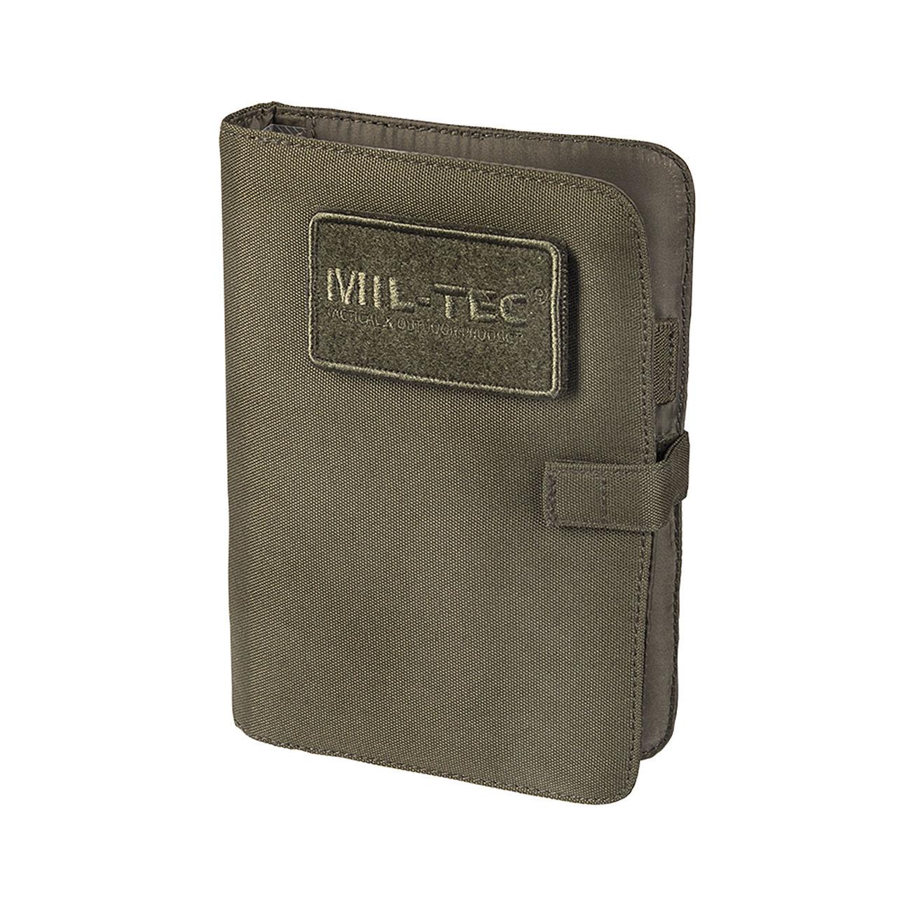 Billiger Preis Mil-tec Tactical Notebook Small Mandra Night Notizbuch Koffer, Taschen & Accessoires Kleidung & Accessoires
