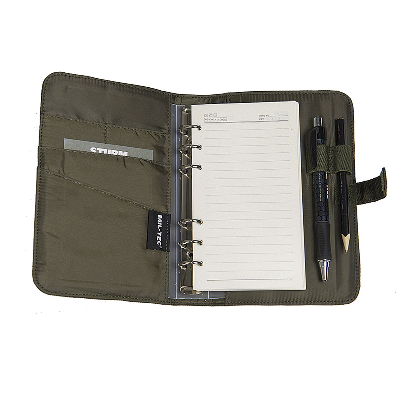Mil-tec Tactical Notebook Small Multitarn Notizbuch Koffer, Taschen & Accessoires
