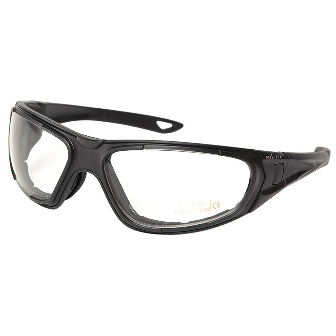 Mil-Tec Brille Tactical Goggle 3in1 schwarz 1