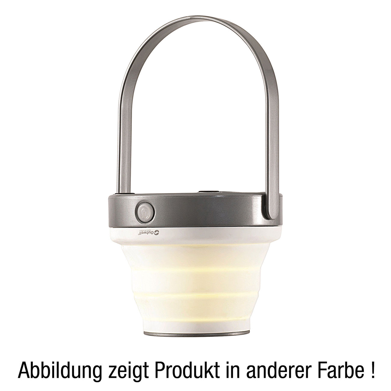 Outwell LED Lampe Amber faltbar lime green 1