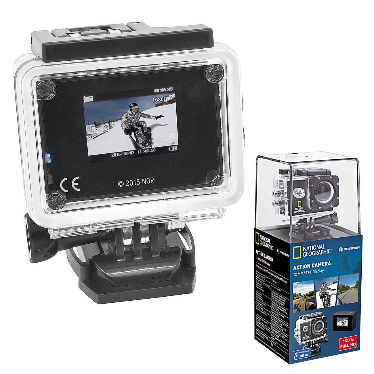 National Geographic Full-HD Action Camera 0