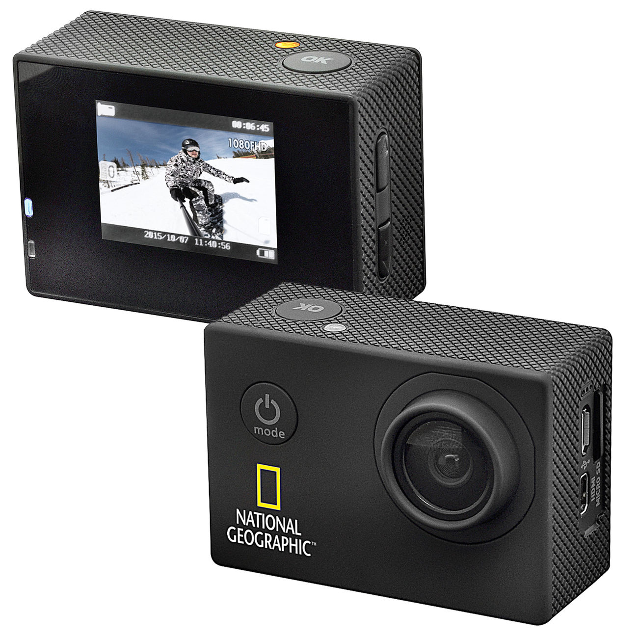 National Geographic Full-HD Action Camera 3