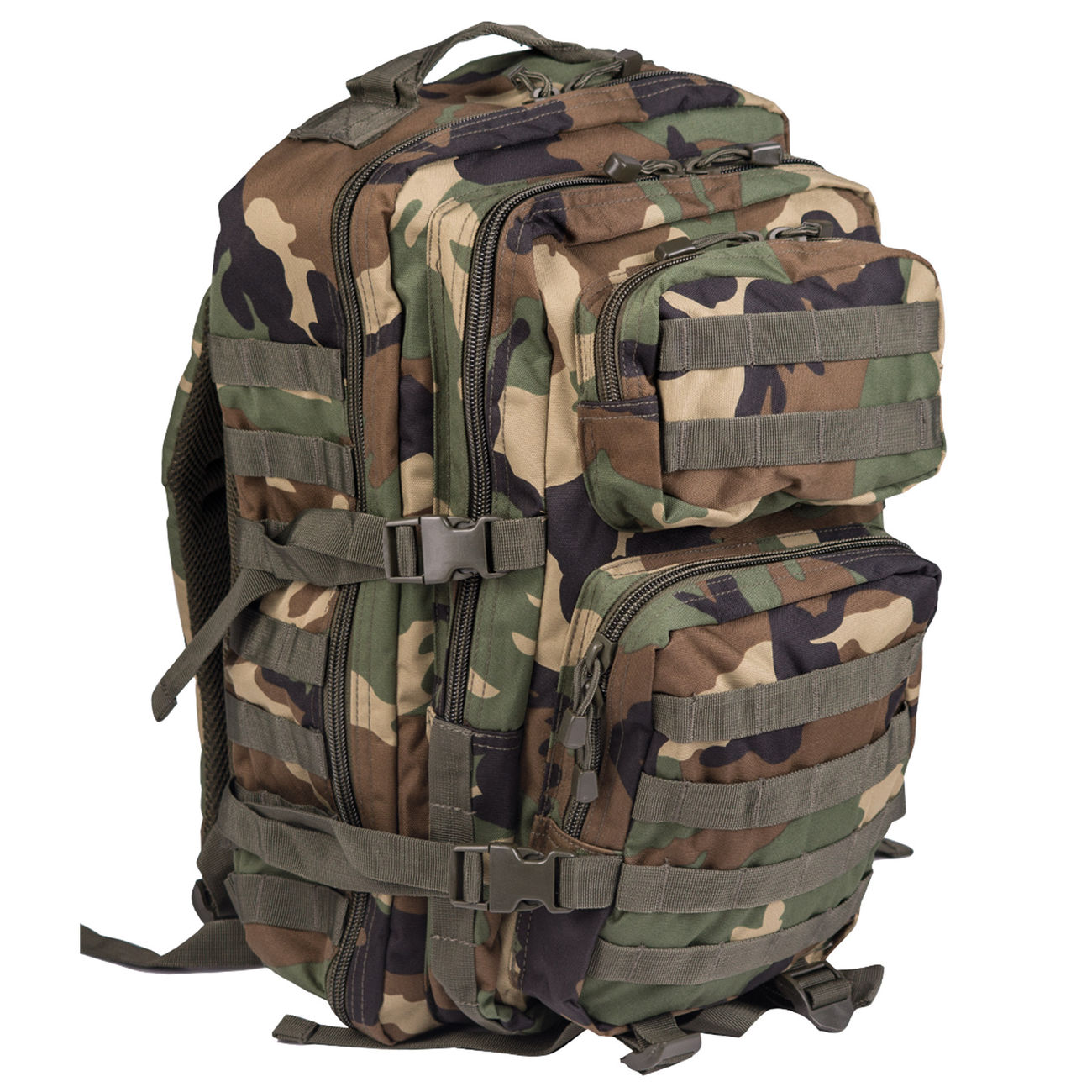 Mil-Tec Rucksack US Assault Pack LG 40 Liter woodland 0