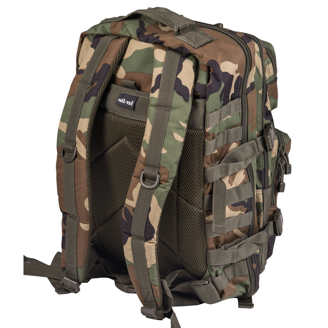 Mil-Tec Rucksack US Assault Pack LG 40 Liter woodland 1