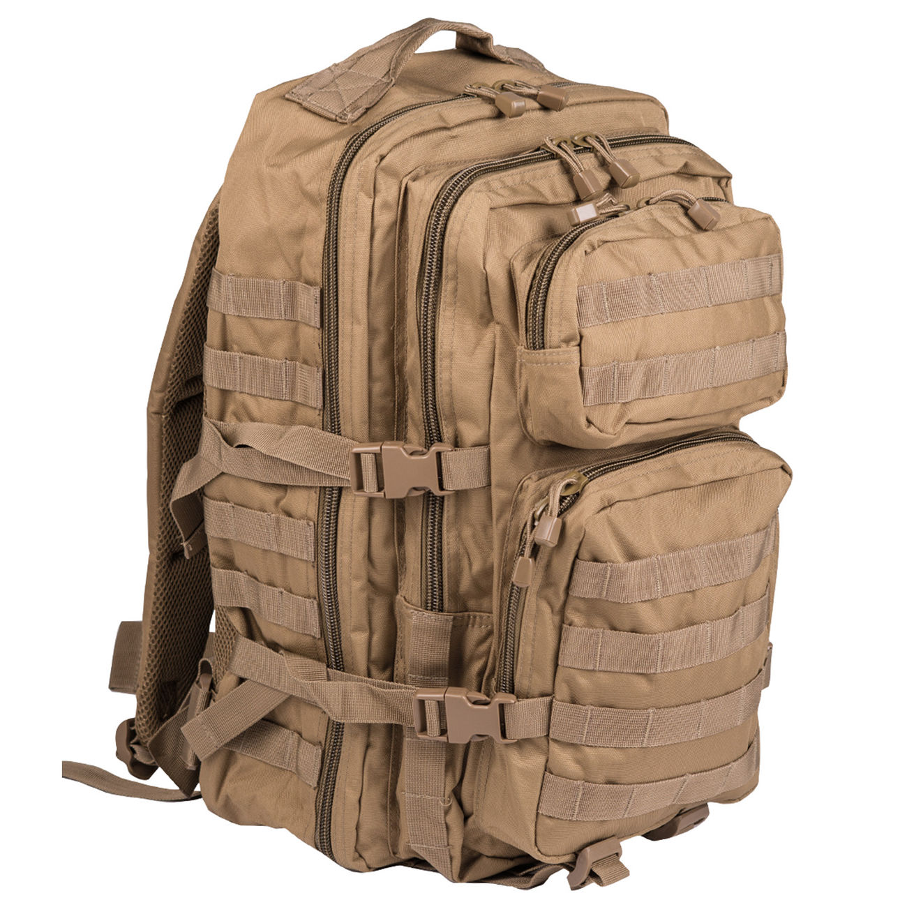 Mil-Tec Rucksack US Assault Pack LG 40 Liter coyote 0