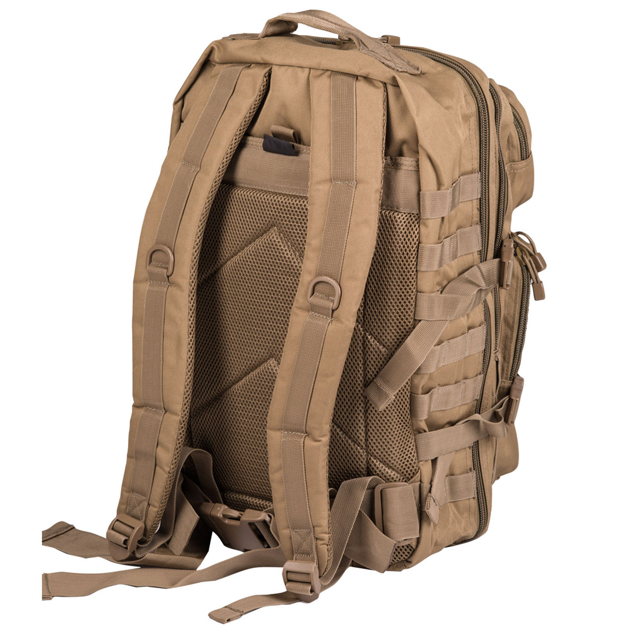 Mil-Tec Rucksack US Assault Pack LG 40 Liter coyote 1