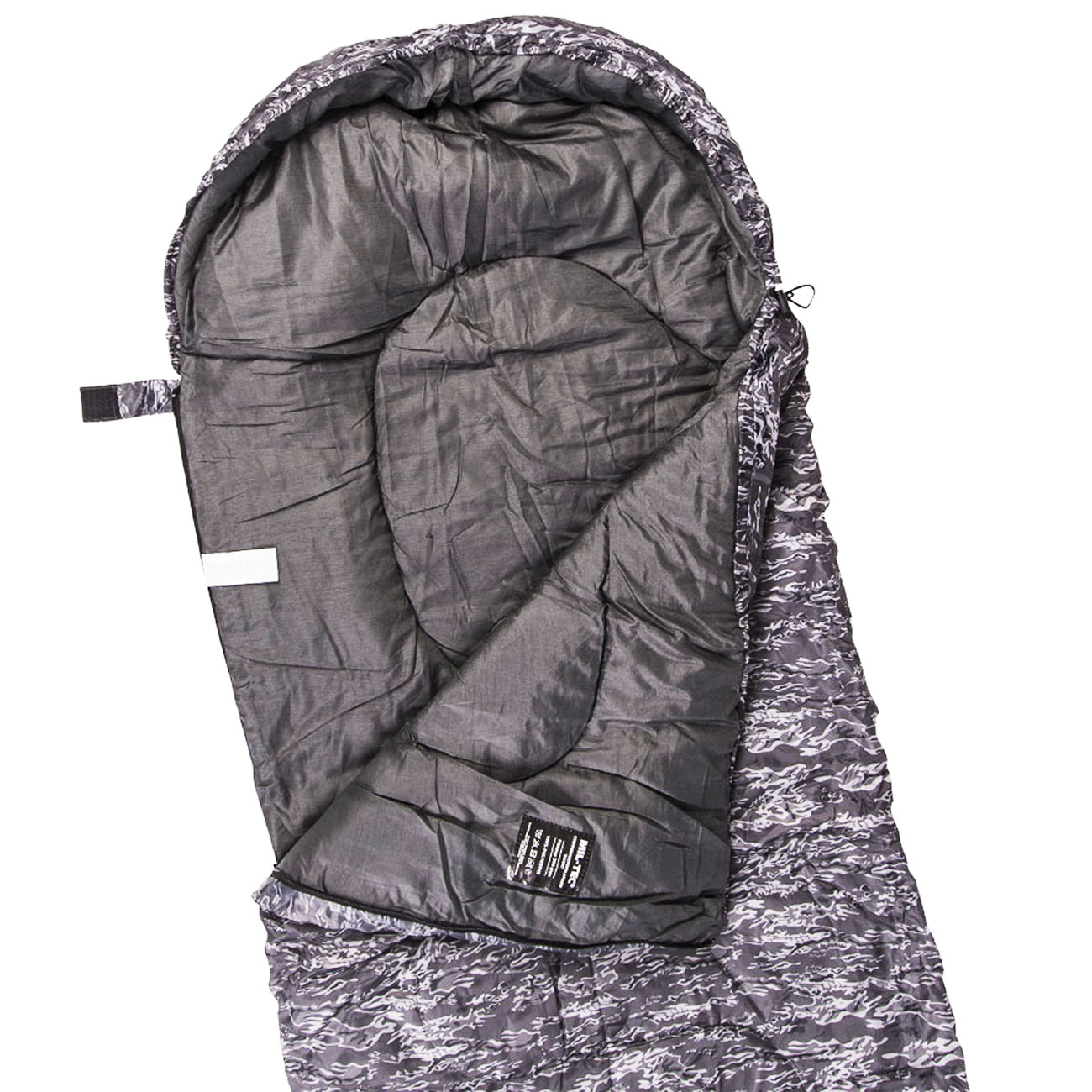 Mil-Tec Steppdeckenschlafsack Basic tiger night 1