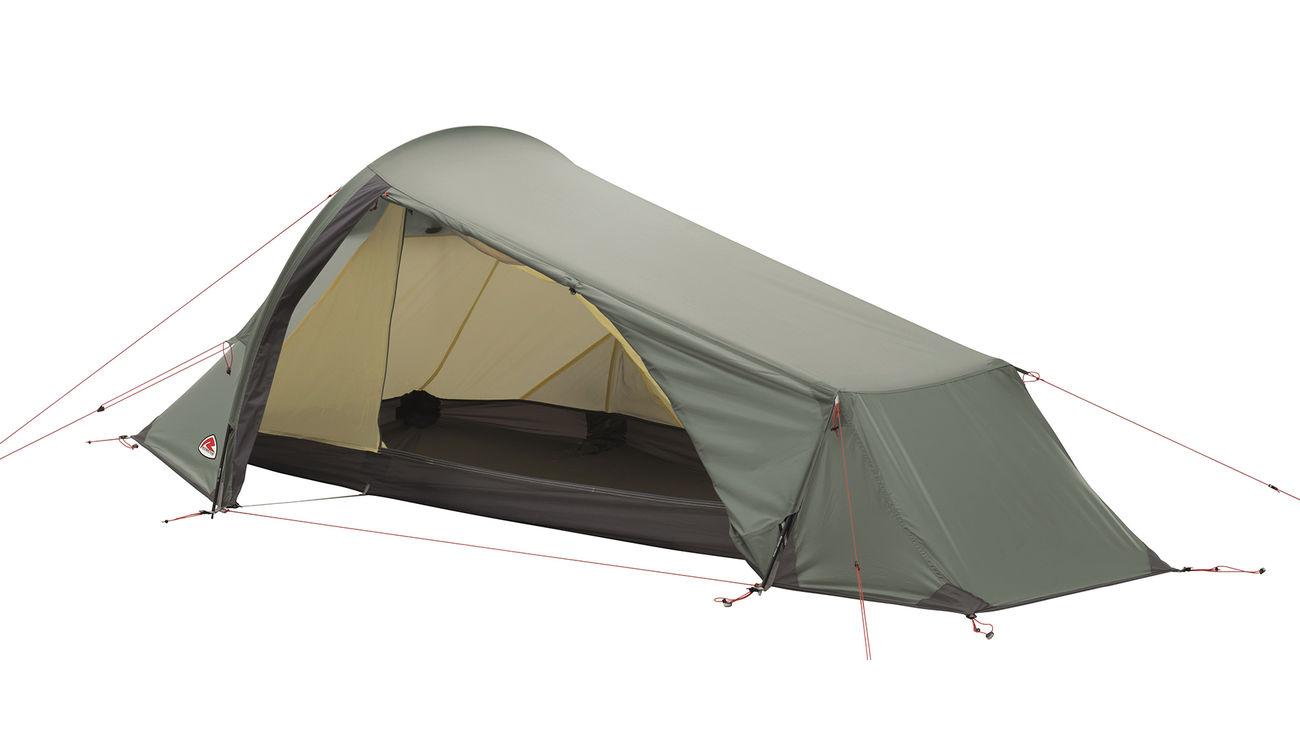 Robens Trekkingzelt Goldcrest 1 Person oliv 0