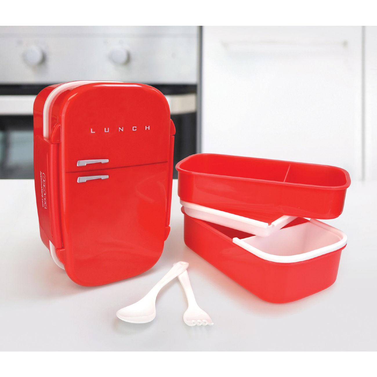 mustard lunch box retro k hlschrank rot g nstig kaufen kotte zeller. Black Bedroom Furniture Sets. Home Design Ideas