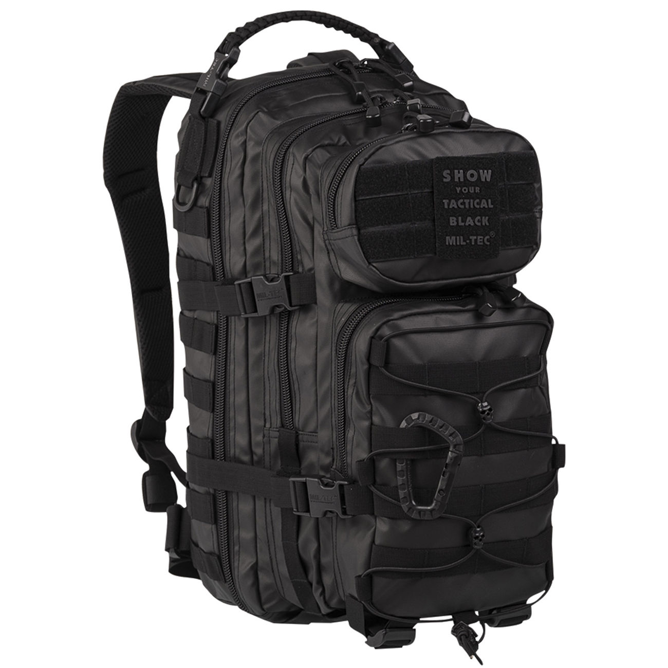 946776e6c3b97 Mil-Tec Rucksack US Assault Pack small 20 Liter tactical black ...