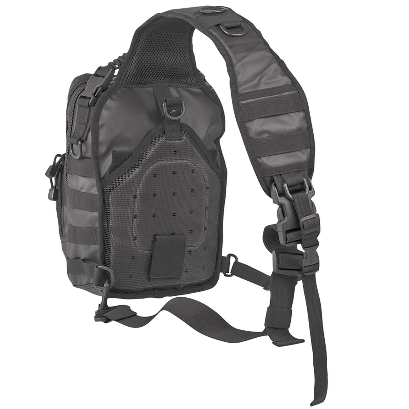 Mil-Tec Rucksack One Strap Assault Pack small 10 Liter tactical black 1