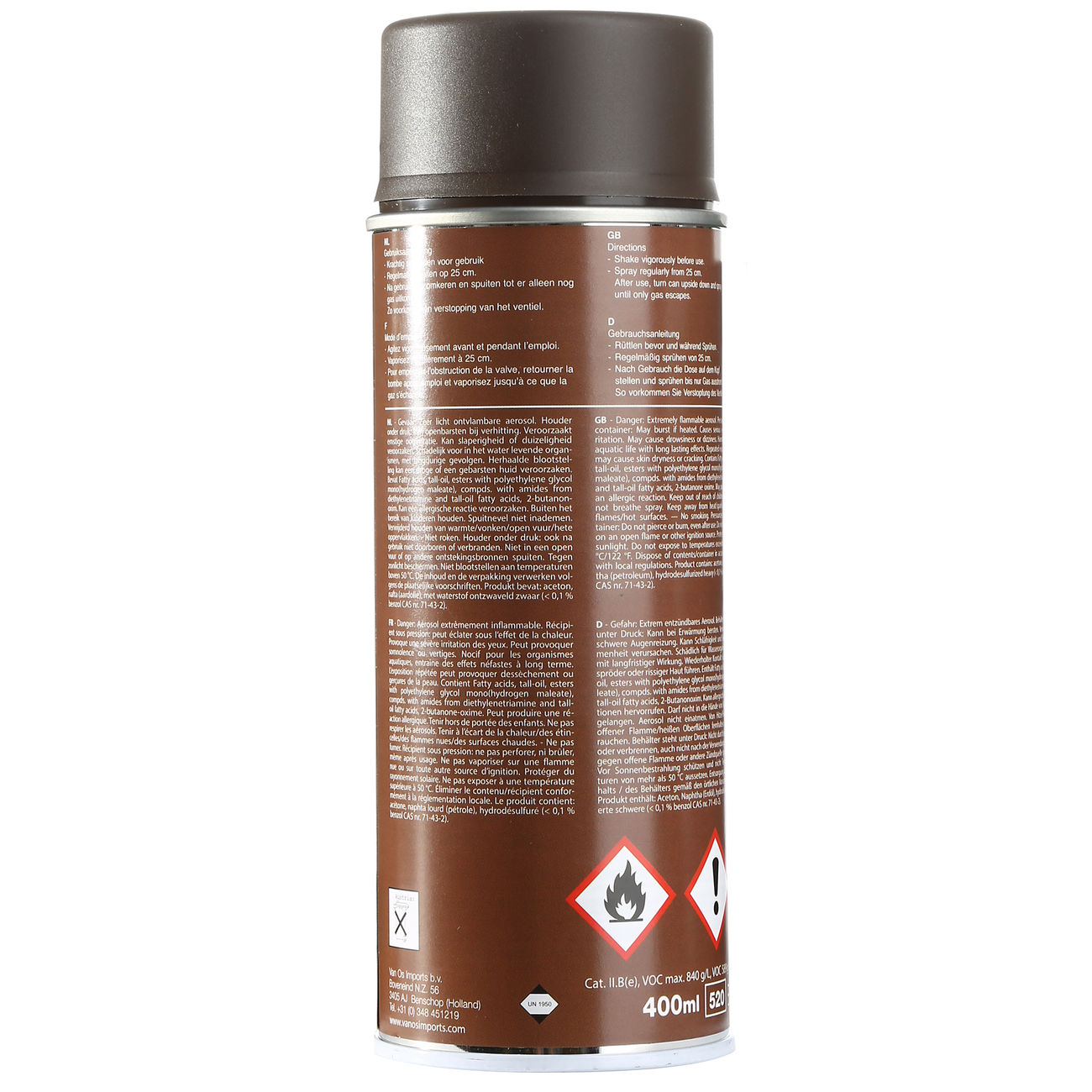 Army Paint Sprühfarbe, service brown 1