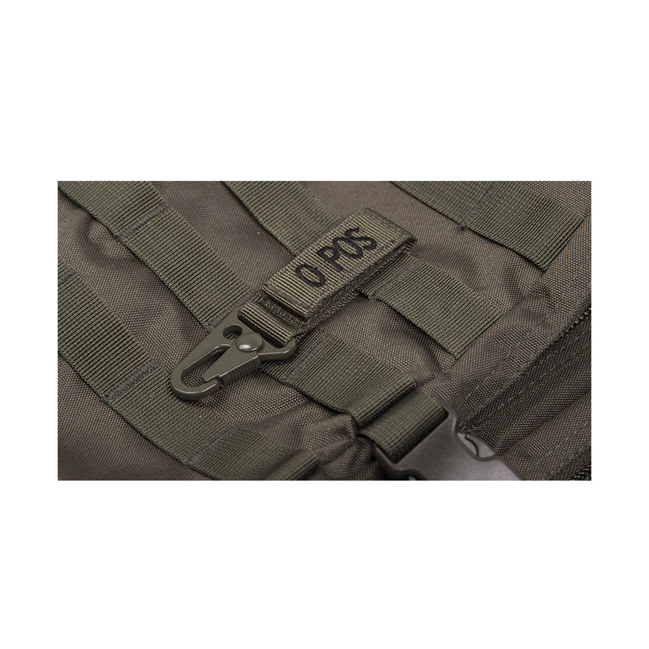 TACTICAL KEYHOLDER BLUTGRUPPE 0 POSITIV OLIV MILITARY ARMY BW AIRSOFT OUTDOOR