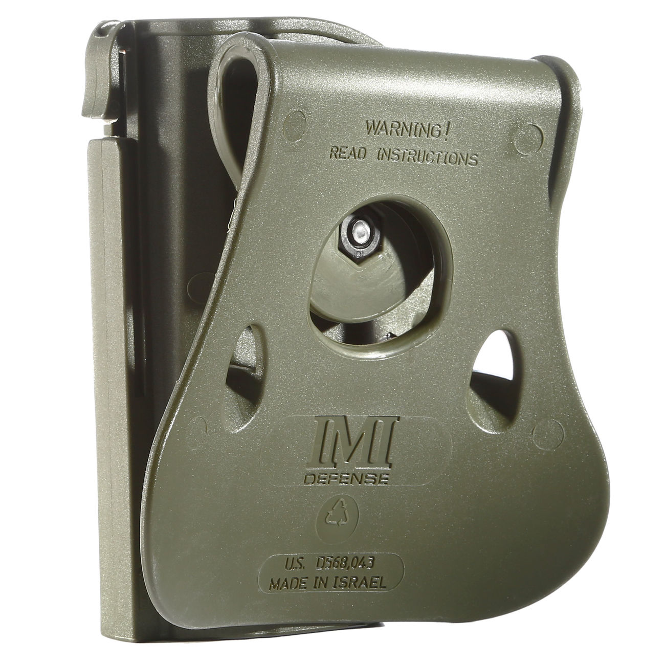 IMI Defense Level 2 Holster Kunststoff Paddle für CZ P-07 OD 1