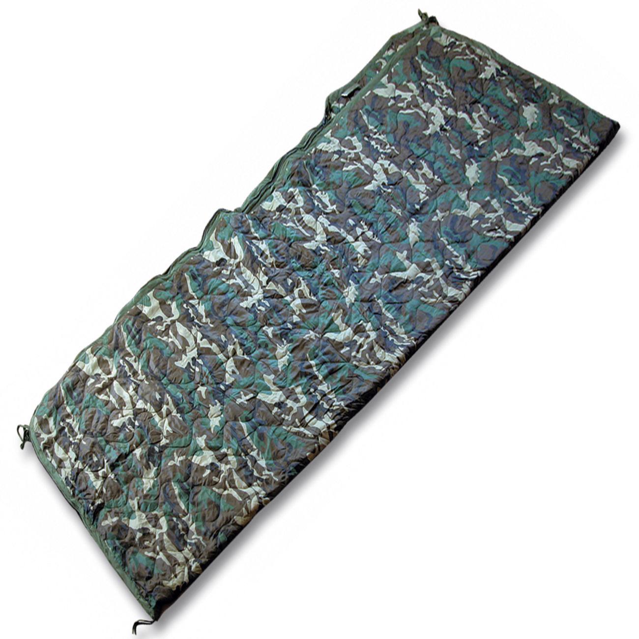 poncho liner steppdecke mit rei verschluss woodland g nstig kaufen kotte zeller. Black Bedroom Furniture Sets. Home Design Ideas