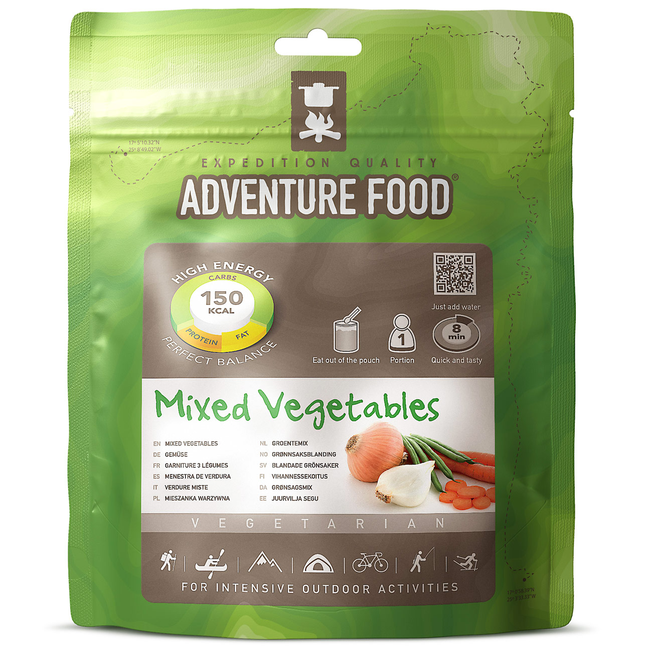 Adventure Food Mixed Vegetables Einzelportion 0