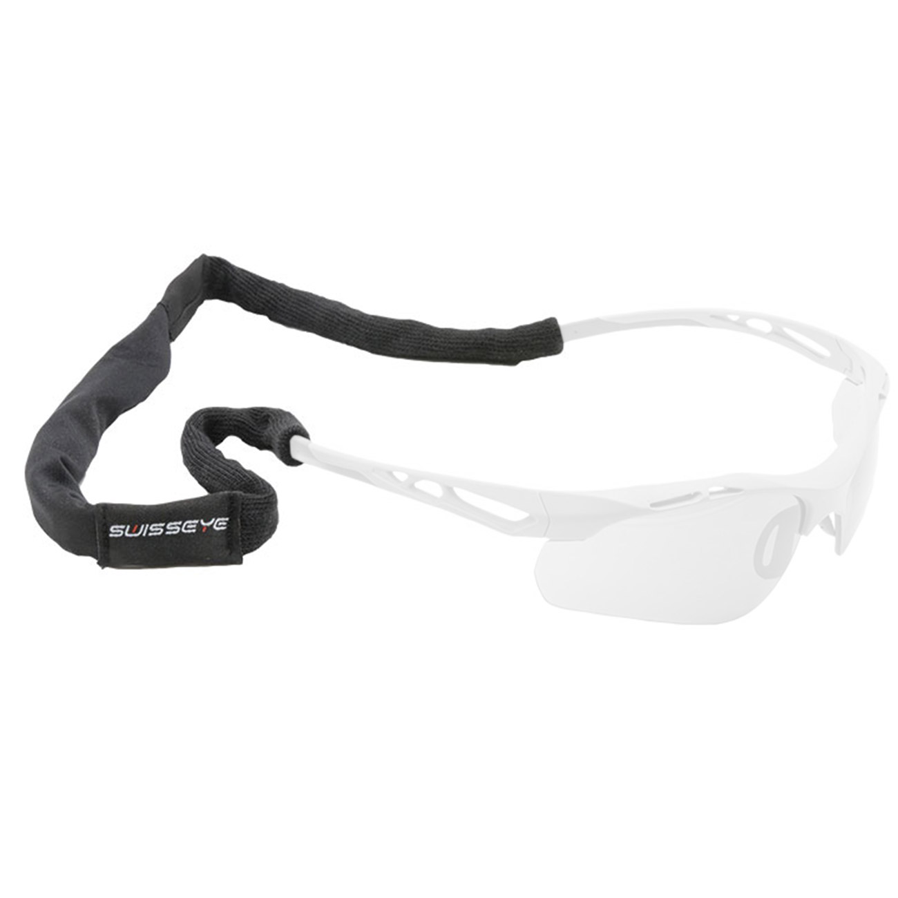 Swiss Eye Brillenband E-Tac Headband multifunktional schwarz 0