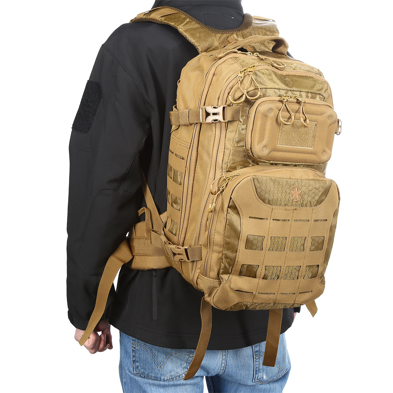 MFH Rucksack Operation I 30 Liter coyote 11