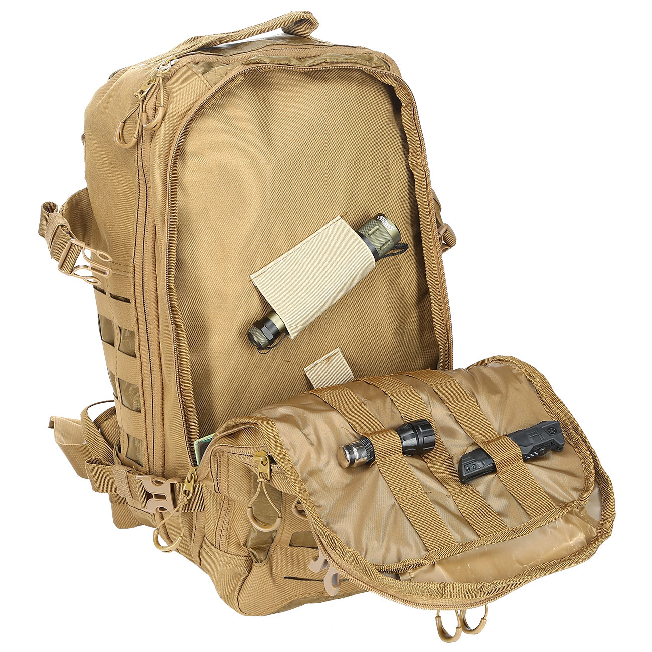 MFH Rucksack Operation I 30 Liter coyote 7