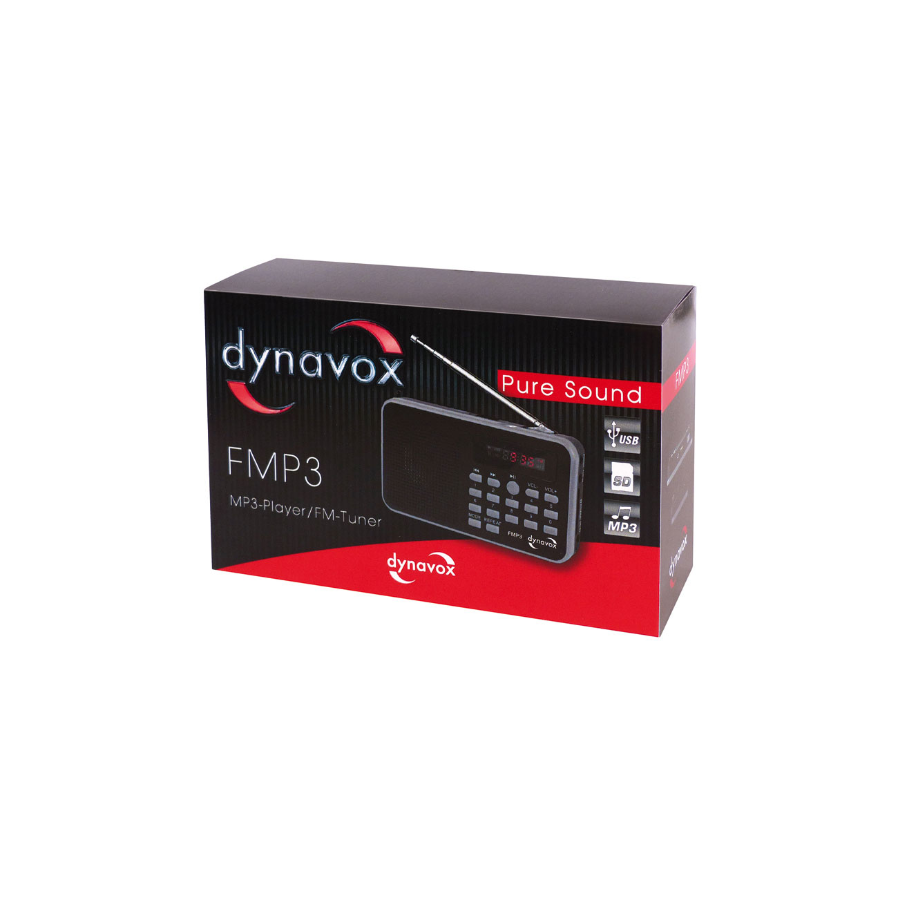 Dynavox MP3-Radio FMP3 4